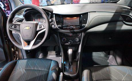 Chi tiet Chevrolet Trax 2017 gia 769 trieu vua ve Viet Nam - Anh 9