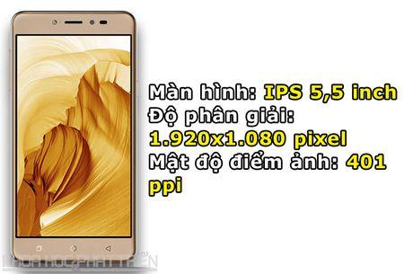 Smartphone selfie, RAM 4 GB, pin 4.010 mAh, gia gan 4 trieu dong - Anh 5