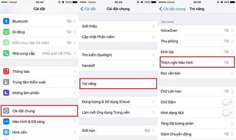 Cach khac phuc loi man hinh iPhone 7 bi am vang - Anh 1