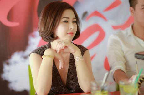 Lo dien MC xinh dep lam 'con gai' cua Quang Teo - Anh 1