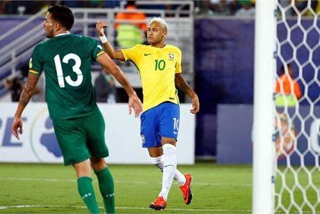 Neymar cham ngoi, Brazil vui dap Bolivia 5-0 - Anh 1