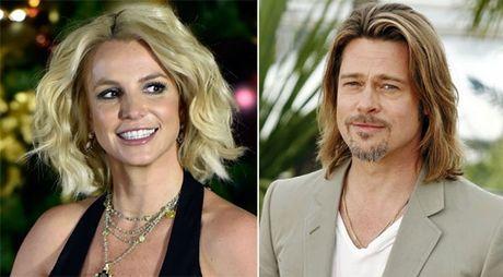 Britney Spears to ra vui mung khi Brad Pitt ly hon - Anh 1