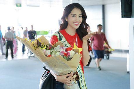 Can canh nhan sac nguoi dep Viet Nam ngay dau o Hoa hau Trai dat - Anh 8