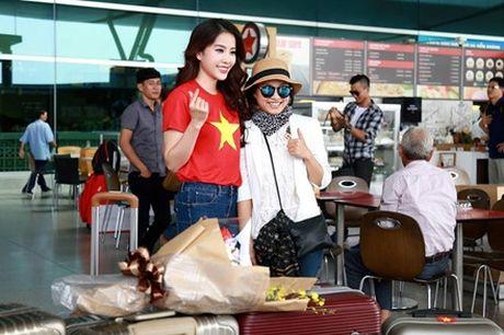 Can canh nhan sac nguoi dep Viet Nam ngay dau o Hoa hau Trai dat - Anh 9