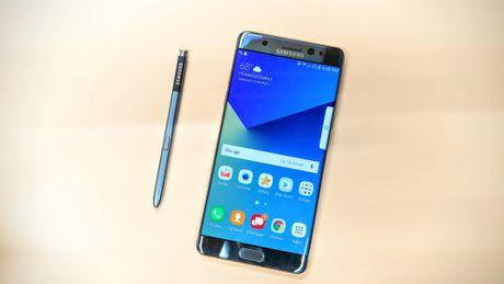 Samsung tien gan toi viec phai cong bo thu hoi Note 7 lan thu hai - Anh 1