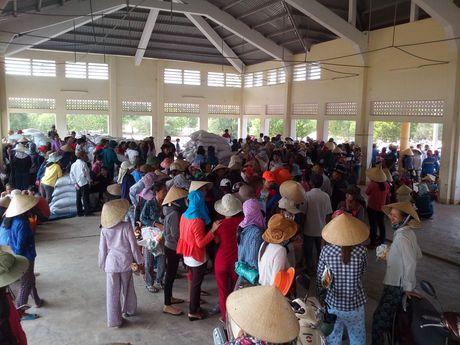 Quang Tri: Ho tro ngu dan hon 2.000 tan gao - Anh 1