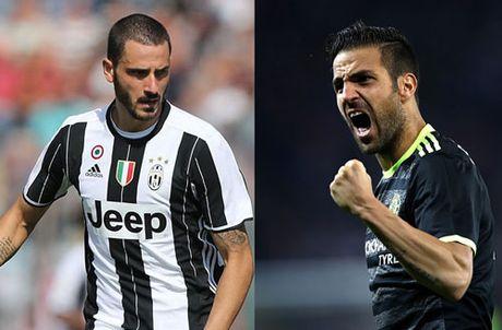 Juventus danh do Chelsea trong vu Bonucci - Anh 1