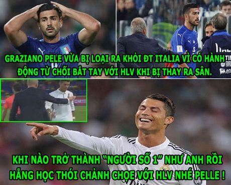 HAU TRUONG (8.10): Ronaldo 'day khon' Pelle, Rooney bi to tron thue - Anh 2