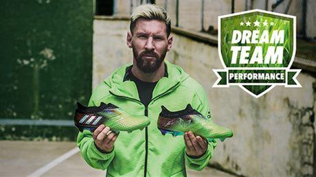 Adidas chi san xuat 100 doi giay doc 'dung chuan' Messi - Anh 1