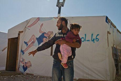 Canh song kho khan cua nguoi ti nan Syria tai Lebanon - Anh 6