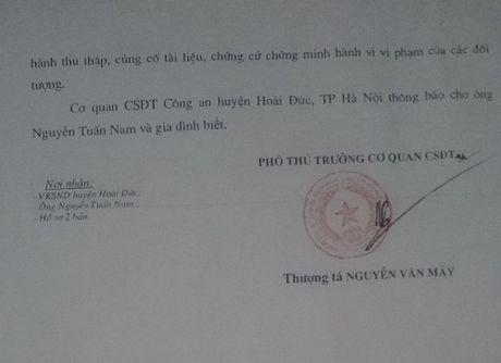 Tiep bai, Huyen Hoai Duc (Ha Noi): Cap so do tren manh dat ma: Nguoi bi hai de nghi chuyen tham quyen dieu tra len co quan cap tren - Anh 3