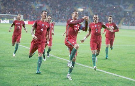 Ronaldo ghi 4 ban giup Bo Dao Nha de bep Andorra - Anh 1