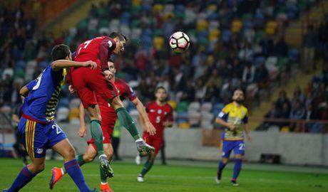Ronaldo ghi 4 ban giup Bo Dao Nha de bep Andorra - Anh 2