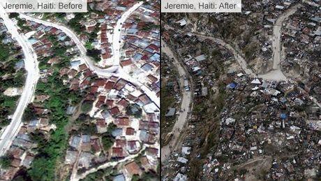 It nhat 820 nguoi thiet mang o Haiti vi bao 'quai vat' - Anh 1