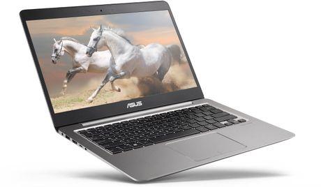 Asus ZenBook UX410: laptop mong 18,95mm, vien mong, 14' Full-HD, co GPU roi - Anh 1