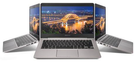 Asus ZenBook UX410: laptop mong 18,95mm, vien mong, 14' Full-HD, co GPU roi - Anh 4