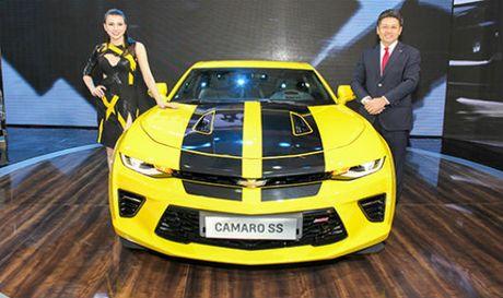 Chevrolet Camaro se ban chinh hang tai Viet Nam - Anh 1