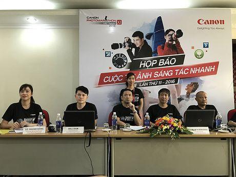 Canon PhotoMarathon Ha Noi 2016 chinh thuc khai mac - Anh 2
