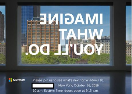 Microsoft se to chuc su kien phan cung vao ngay 26/10 - Anh 1