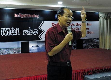 Cu dan Nam Sai Gon mong muon xu ly dut diem mui hoi tu bai rac Da Phuoc - Anh 1