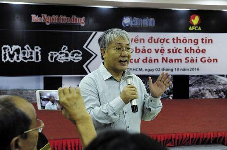 Cu dan Nam Sai Gon mong muon xu ly dut diem mui hoi tu bai rac Da Phuoc - Anh 3