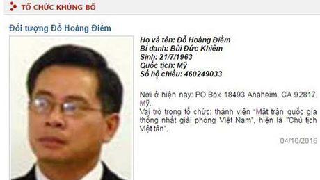 Bo Cong an: Viet Tan dang tuyen mo nguoi xam nhap tro lai Viet Nam - Anh 1