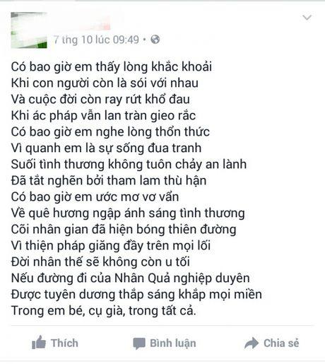 Vu mot phu nu tam xang tu thieu o Hue: Loi vinh biet tren Facebook - Anh 4