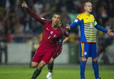 Ronaldo ghi bon ban, Bo Dao Nha dai thang tai vong loai World Cup - Anh 1