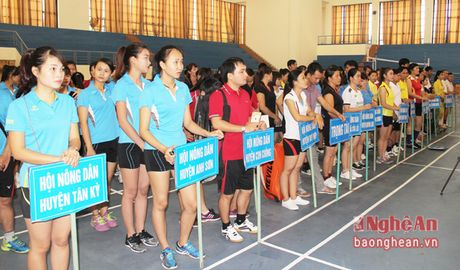 Khai mac Giai the thao Hoi nong dan Tinh lan thu IV - Anh 2