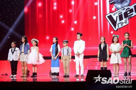 Liveshow 4: Chia tay 3 giong ca tiem nang, Top 6 The Voice Kids lo dien - Anh 2