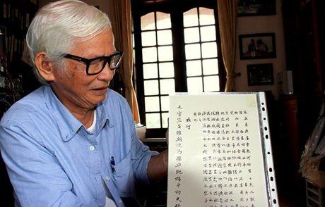 Chuyen voi nguoi danh mot phan ba the ki di tim dau vet lang mo Quang Trung - Anh 1