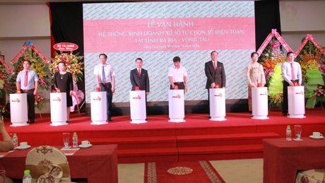 Vietlott van hanh kinh doanh xo so dien toan tai Ba Ria-Vung Tau - Anh 1