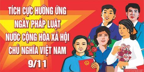 To chuc cac hoat dong huong ung Ngay Phap luat Viet Nam nam 2016 - Anh 1