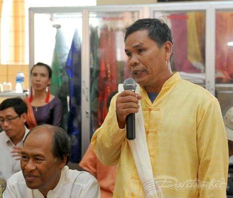 Chu tich Nguyen Thien Nhan va Doan cong tac tham lang det tho cam - Anh 8