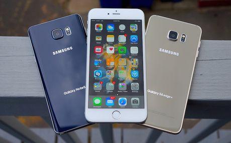Fan cuong vut 9 sieu pham Android, mua iPhone 7 - Anh 1