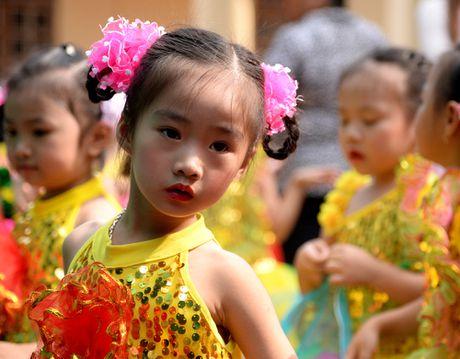 Nhung thien than nhi dang yeu o truong mam non cao nguyen Moc Chau - Anh 16
