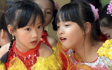 Nhung thien than nhi dang yeu o truong mam non cao nguyen Moc Chau - Anh 1