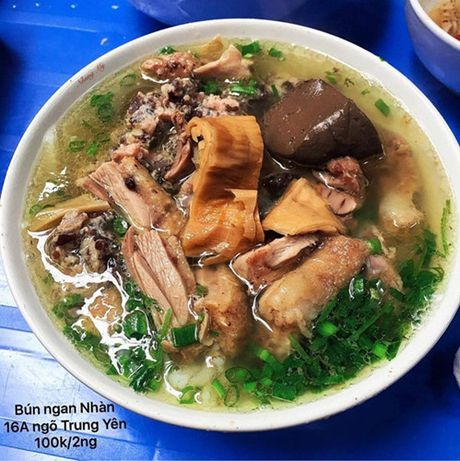 Diem danh nhung quan bun ngon nuc tieng cua Ha Noi - Anh 3