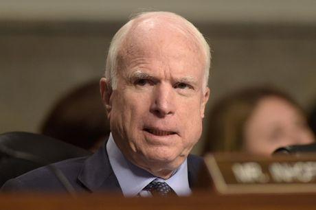 Thuong nghi sy John McCain rut lai quyet dinh ung ho ong Trump - Anh 1