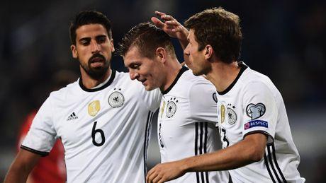 Mueller lap cu dup, Duc dai thang 3-0 truoc Czech - Anh 1