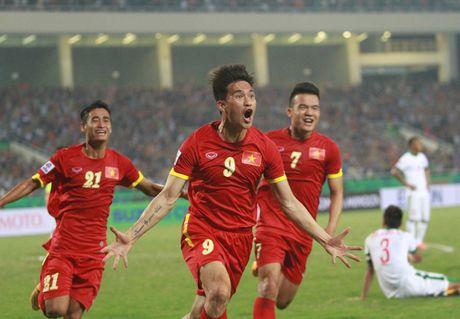 Xem truc tiep Indonesia vs Viet Nam: Van Thang, Minh Tuan ghi ban - Anh 1