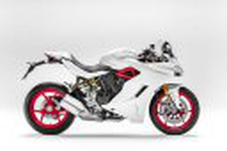 Ducati ra mat SuperSport va SuperSport S - sporttouring, dang giong Panigale nhung de chay hon - Anh 11