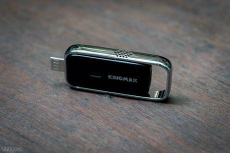 Tren tay USB do chat luong khong khi Kingmax AirQ Check: do nhiet do va do am kha chinh xac - Anh 5