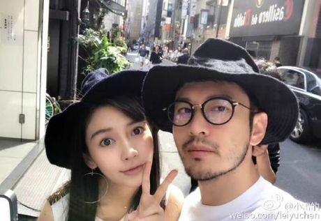 Huynh Hieu Minh xac nhan Angelababy co bau, khoe anh tinh cam - Anh 2