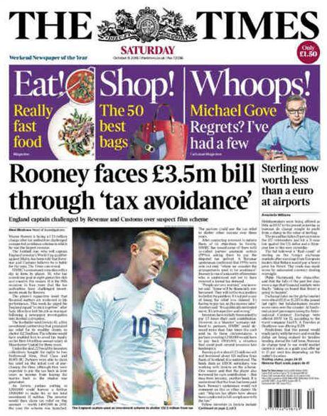 Rooney bi cao buoc tron thue 3,5 trieu bang Anh - Anh 1