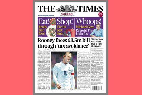 Wayne Rooney tiep tuc tao scandal tron thue - Anh 1