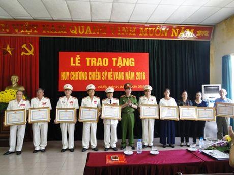 103 dong chi duoc trao tang Huy chuong Chien sy ve vang - Anh 1