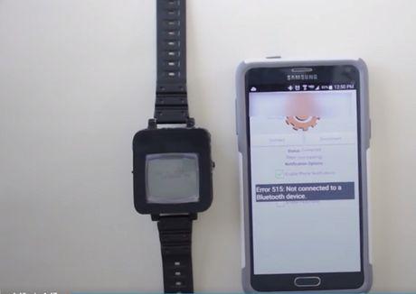Bien dien thoai Nokia cu thanh smartwatch - Anh 1