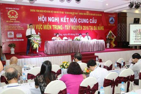 Hon 420 doanh nghiep tham gia Hoi nghi ket noi cung cau khu vuc mien Trung - Tay Nguyen - Anh 1