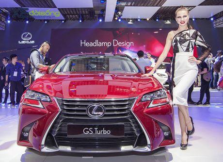 Dan nguoi mau Lexus sac ben nhat Vietnam Motor Show 2016 - Anh 3
